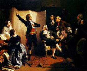 Руже де Лиль впервые исполняет Марсельезу в доме у Дитриха