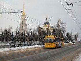 Рыбинск троллейбус