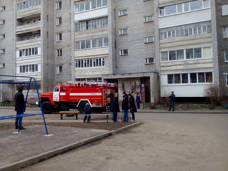 В Ярославле снова взрыв газа