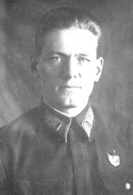 Майор Г.А. Троицкий.
