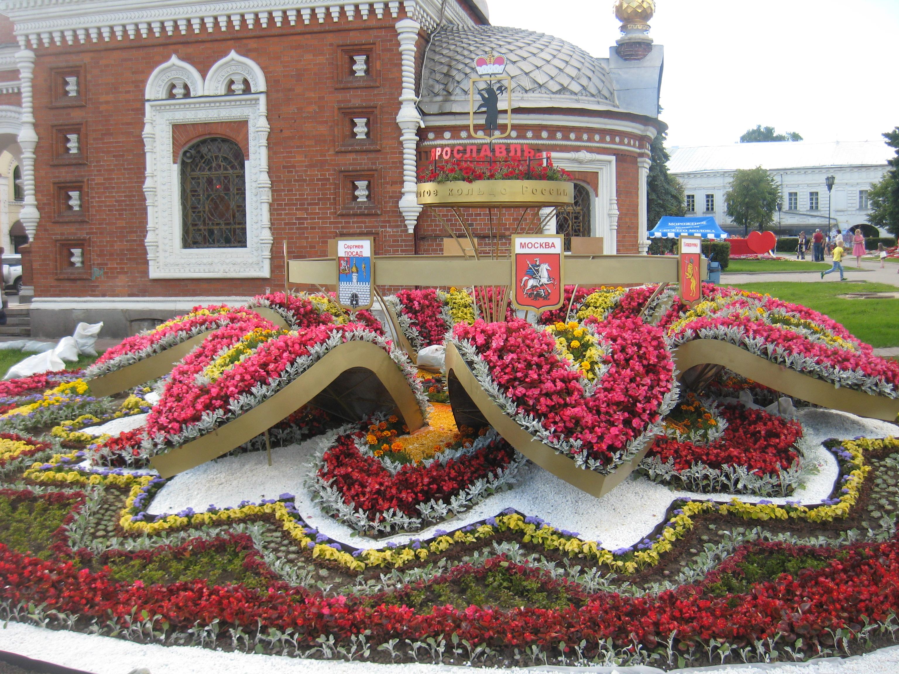 Потемкинская деревня в столице Золотого Кольца