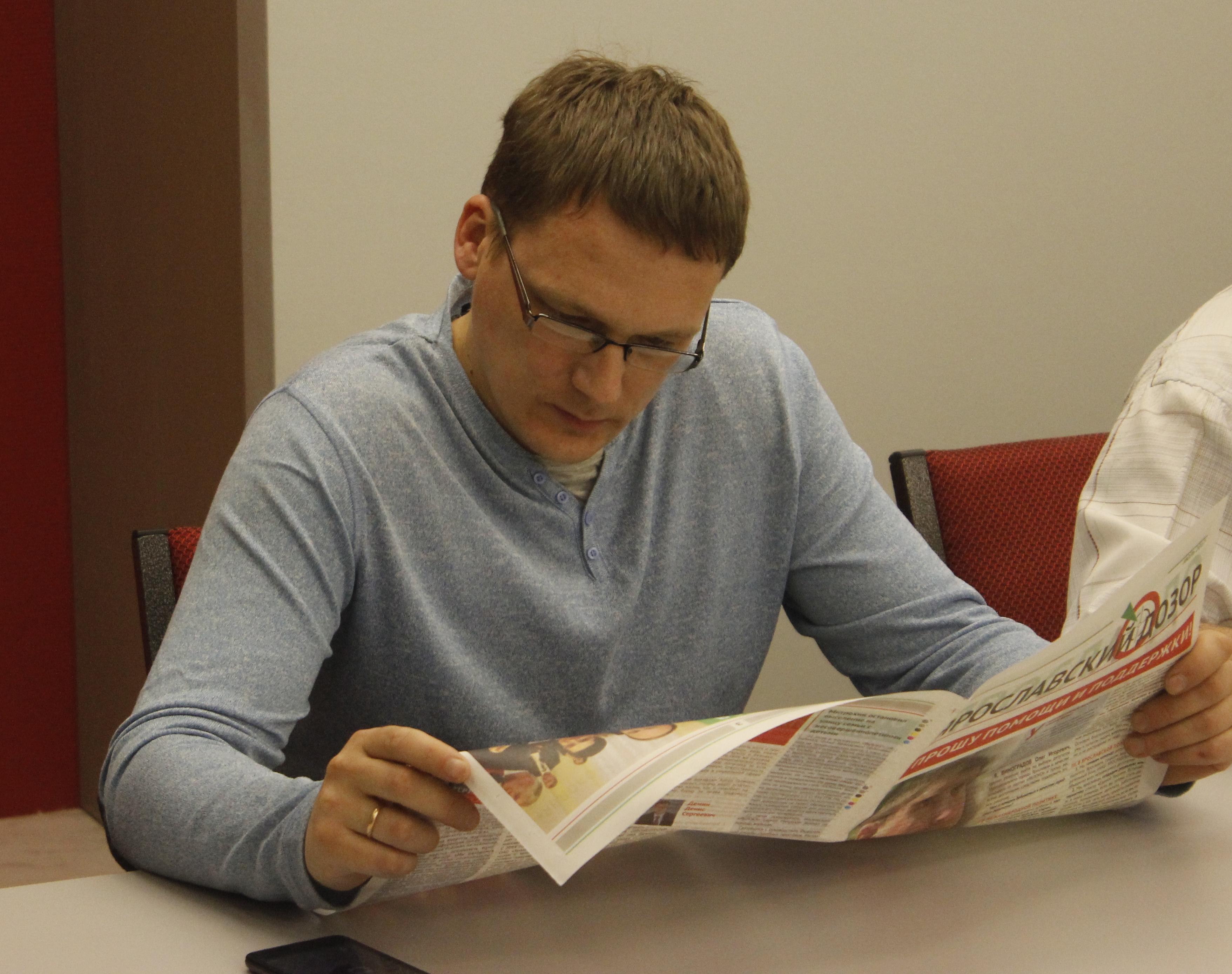 Антон Голицын: «причина появления клеветнических газет – страх власти»