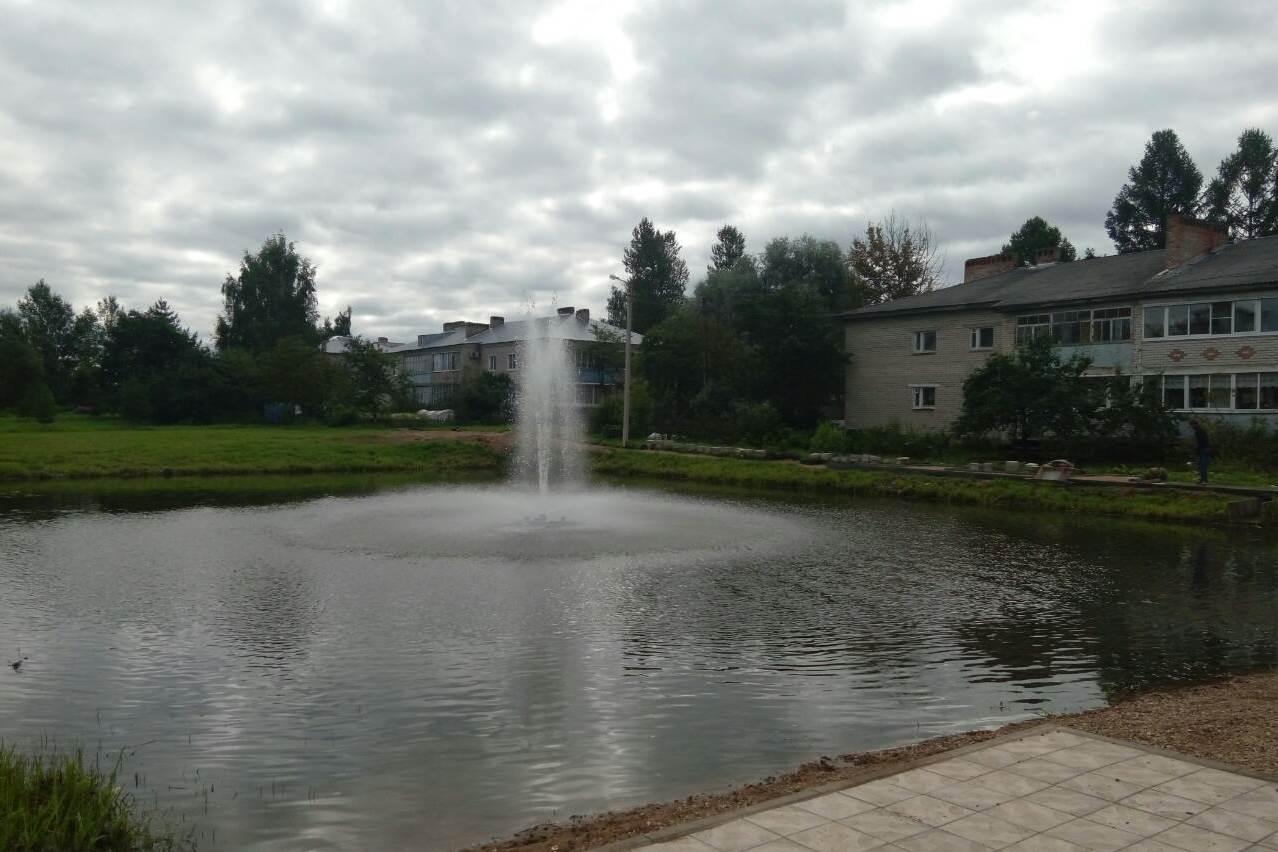 30 августа в Пречистом все же открыли фонтан