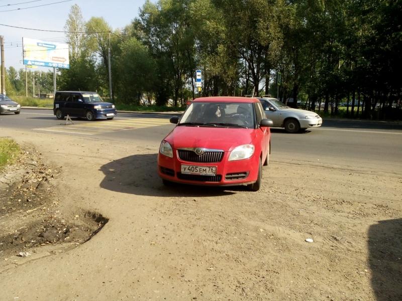 Очень опасный пешеходный переход
