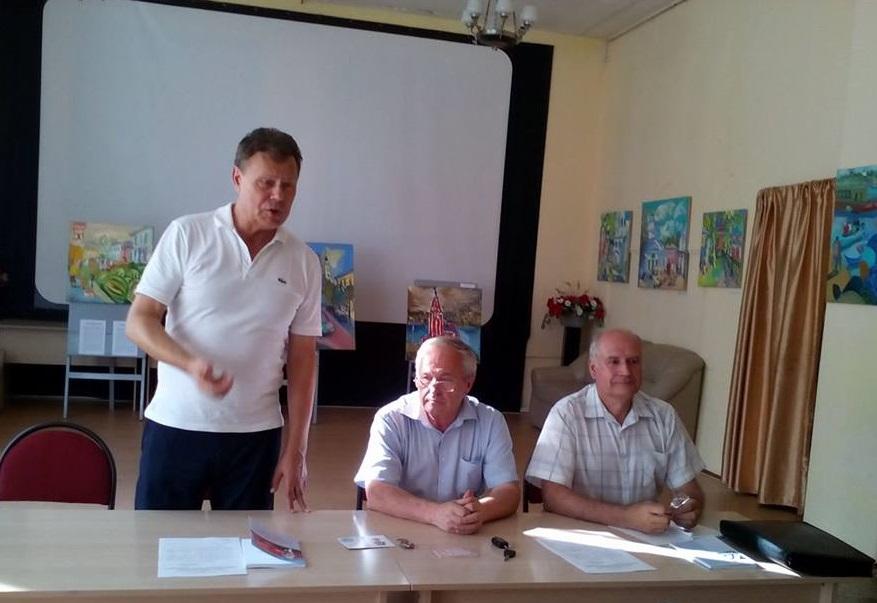 Михаил Парамонов встретился с «детьми войны» левобережного Тутаева