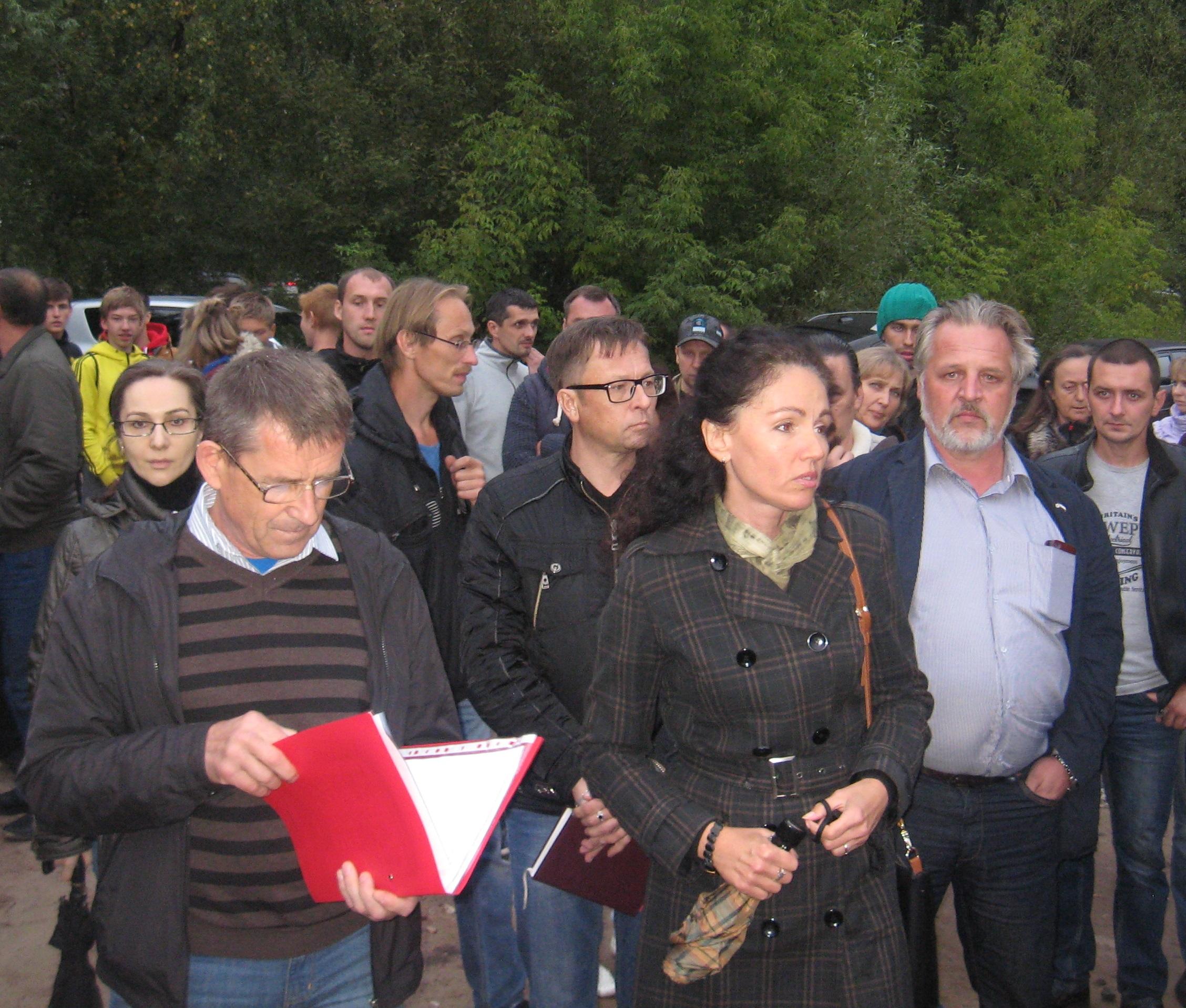 Жители Твериц ждут встречи с мэром Ярославля
