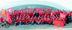 На Всемирном молодежном фестивале была представлена молодежь всех коммунистических объединений мира.