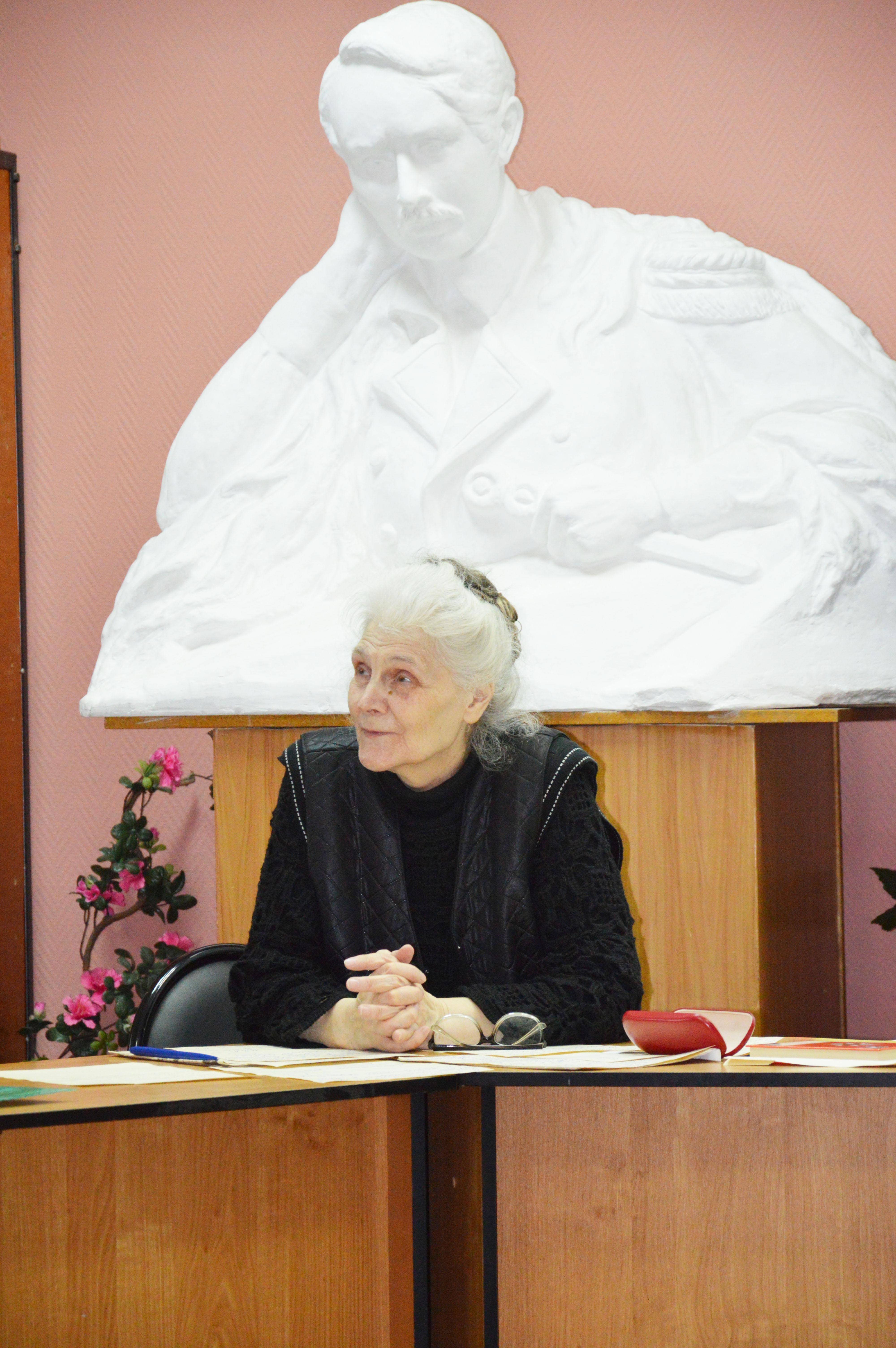 Творческий вечер Тамары Рыковой