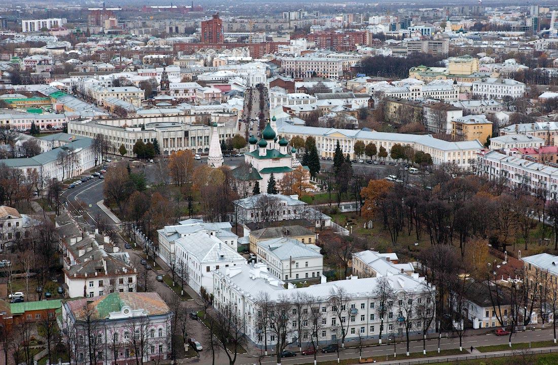 По мнению жителей, Ярославль убирают хуже, чем Рыбинск