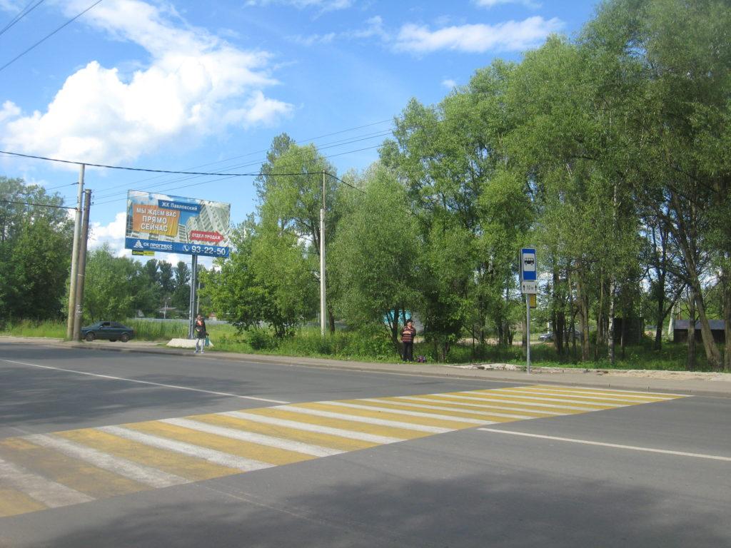 На пешеходном переходе установят светофор