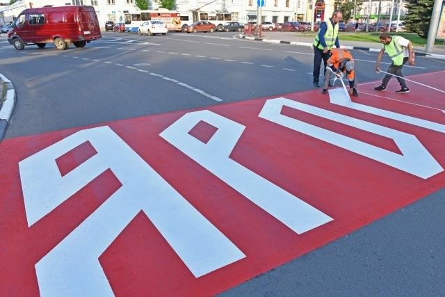 Инновационный пешеходный переход вне закона