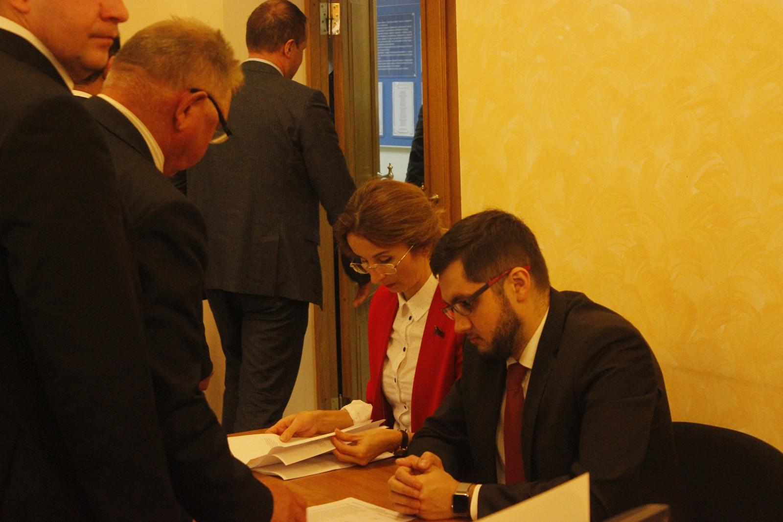Евгения Овод вошла в состав счётной комиссии