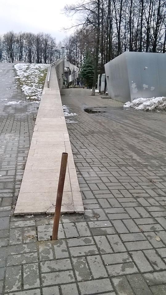 Законно ли строительство на Первомайском бульваре?