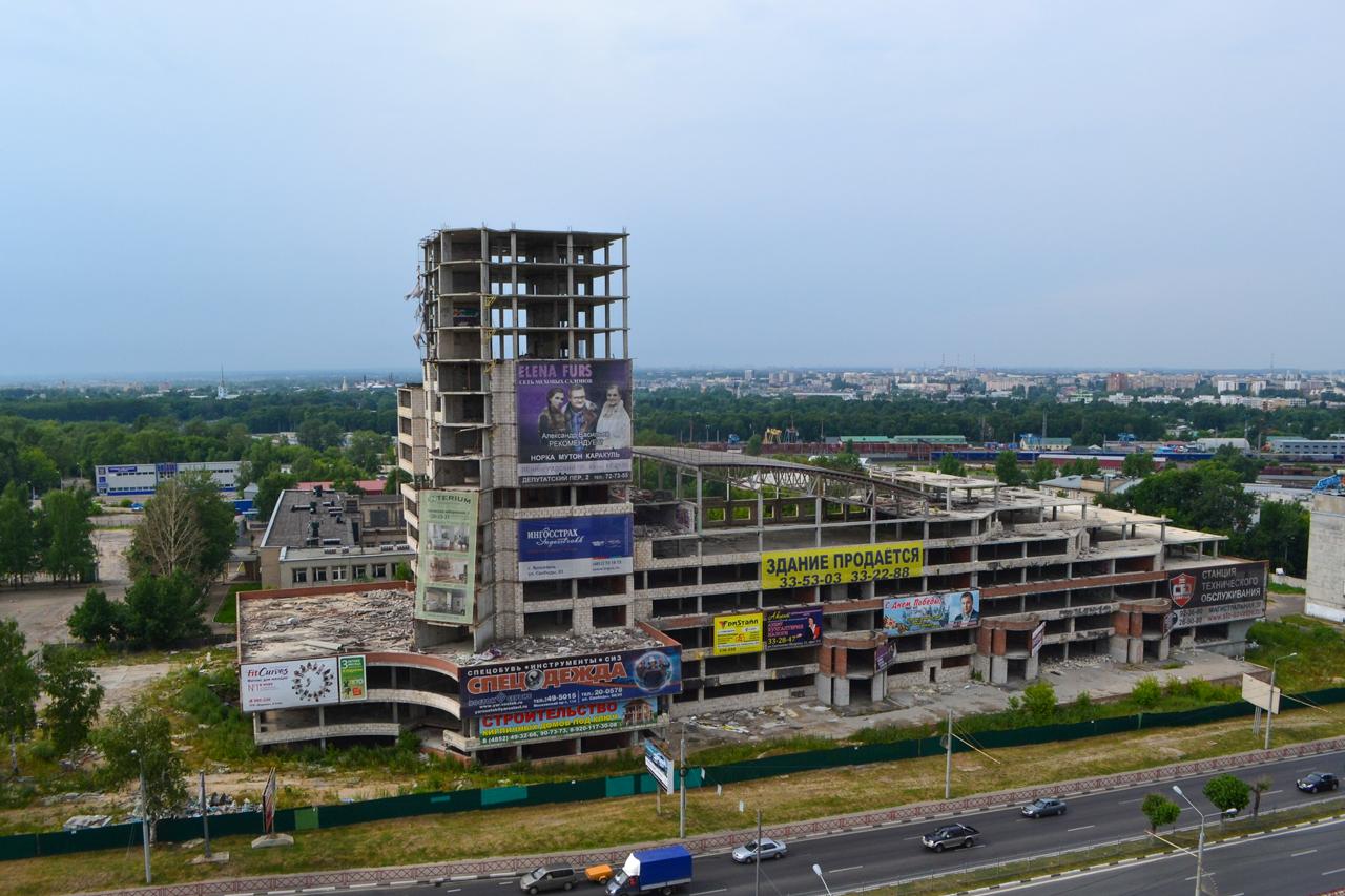 «Ярославль-Сити» хотят превратить в жилой дом