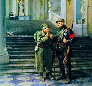 Русский народ первым в истории человечества попытался воплотить мечту о справедливости в жизнь