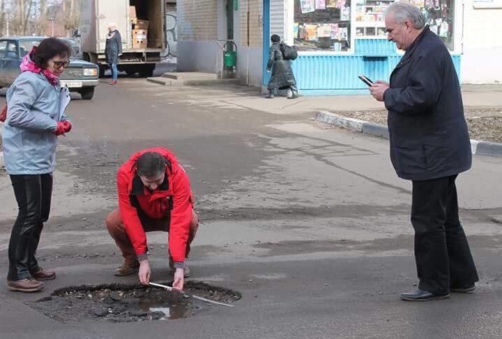Общественники критикуют проведение дорожно-ремонтных работ