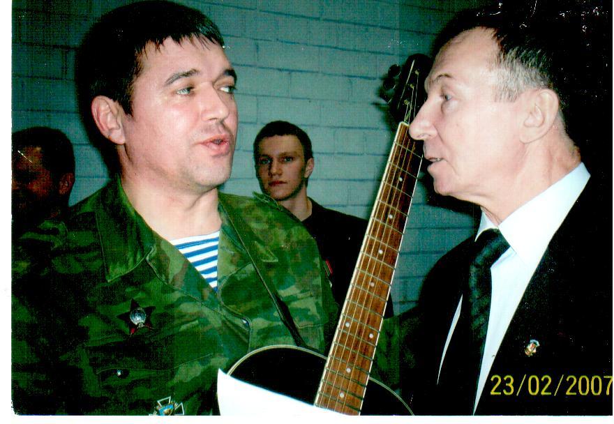 Валерий Петряев: союз меча и лиры
