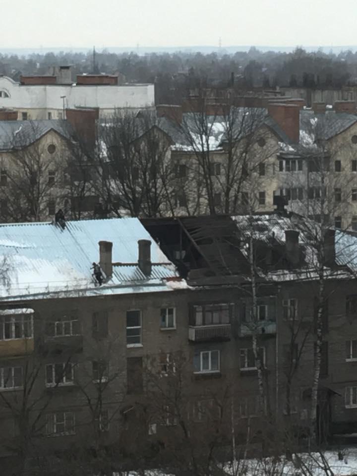 В Новый год без крыши?