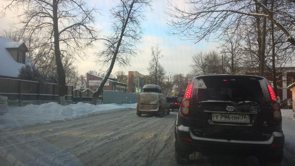 Ярославцы возмущены, что власть не чистит дороги
