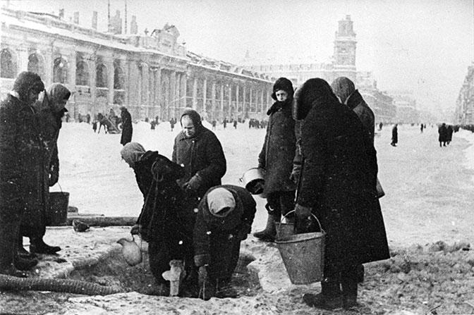 75-летию снятия блокады Ленинграда посвящается