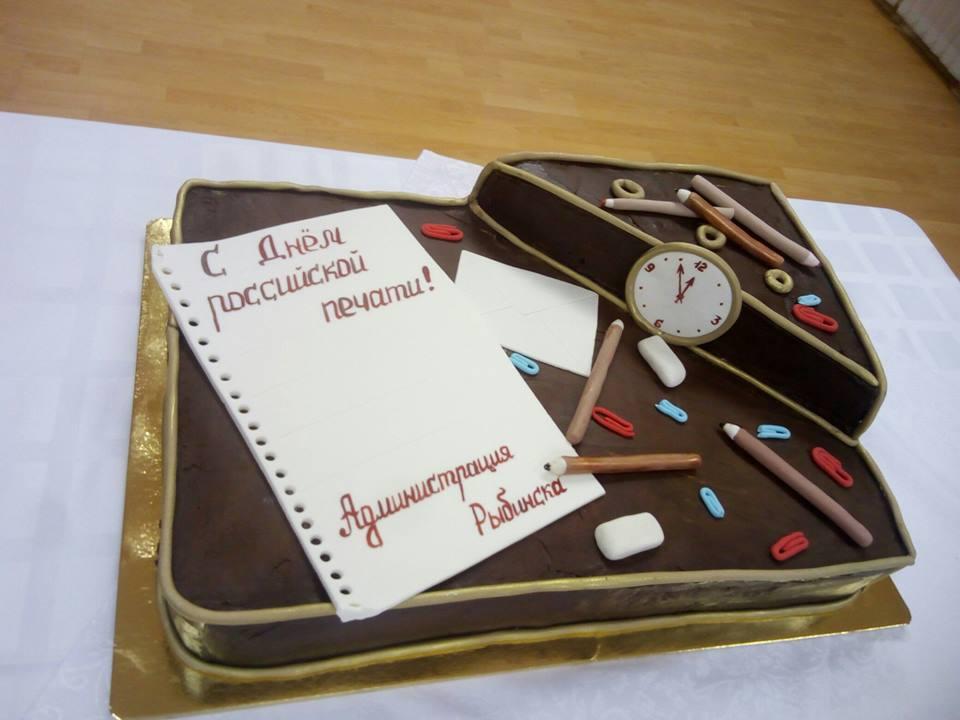 Торт от администрации Рыбинска
