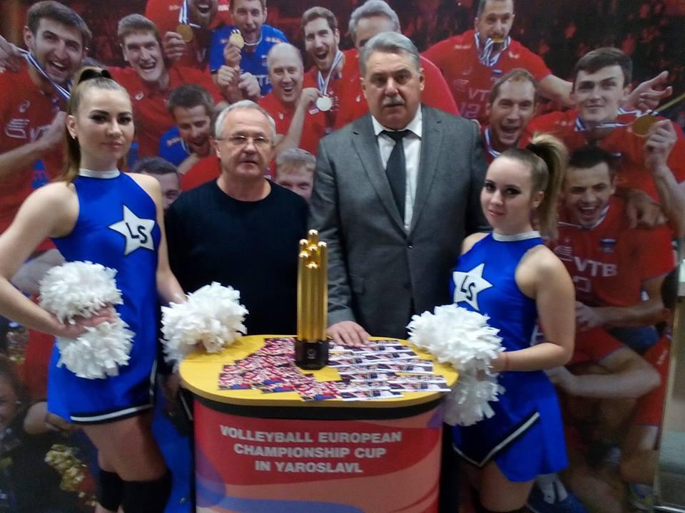 Александр Воробьев: ярославскому волейболу нужен новый спортивный зал
