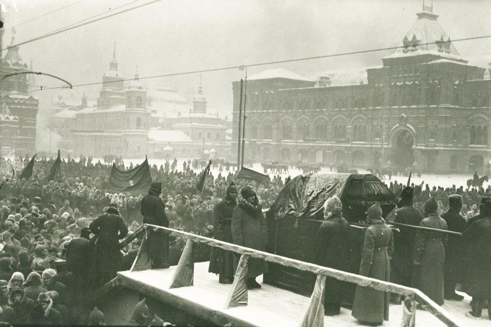 22 января 1924 года в президиуме съезда Советов плакали, как дети