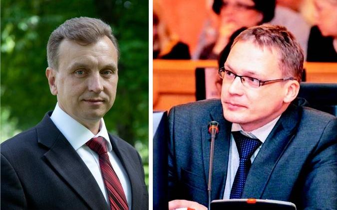 Валарий Байло и Антон Голицын