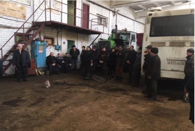 Доверенное лицо Павла Грудинина встретился с трудовыми коллективами Данилова