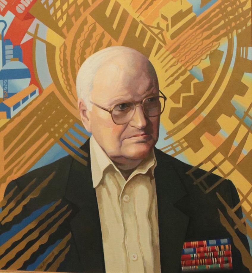 Портрет ко дню рождения Фёдора Ивановича Лощенкова