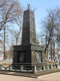 Памятник жертвам мятежа