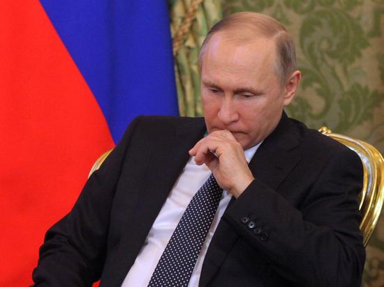 Рейтинг Путина снизился в крупных городах