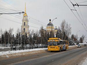 Рыбинский троллейбус
