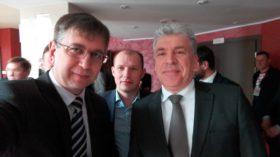 Эльхан Мардалиев с Павлом Грудининым