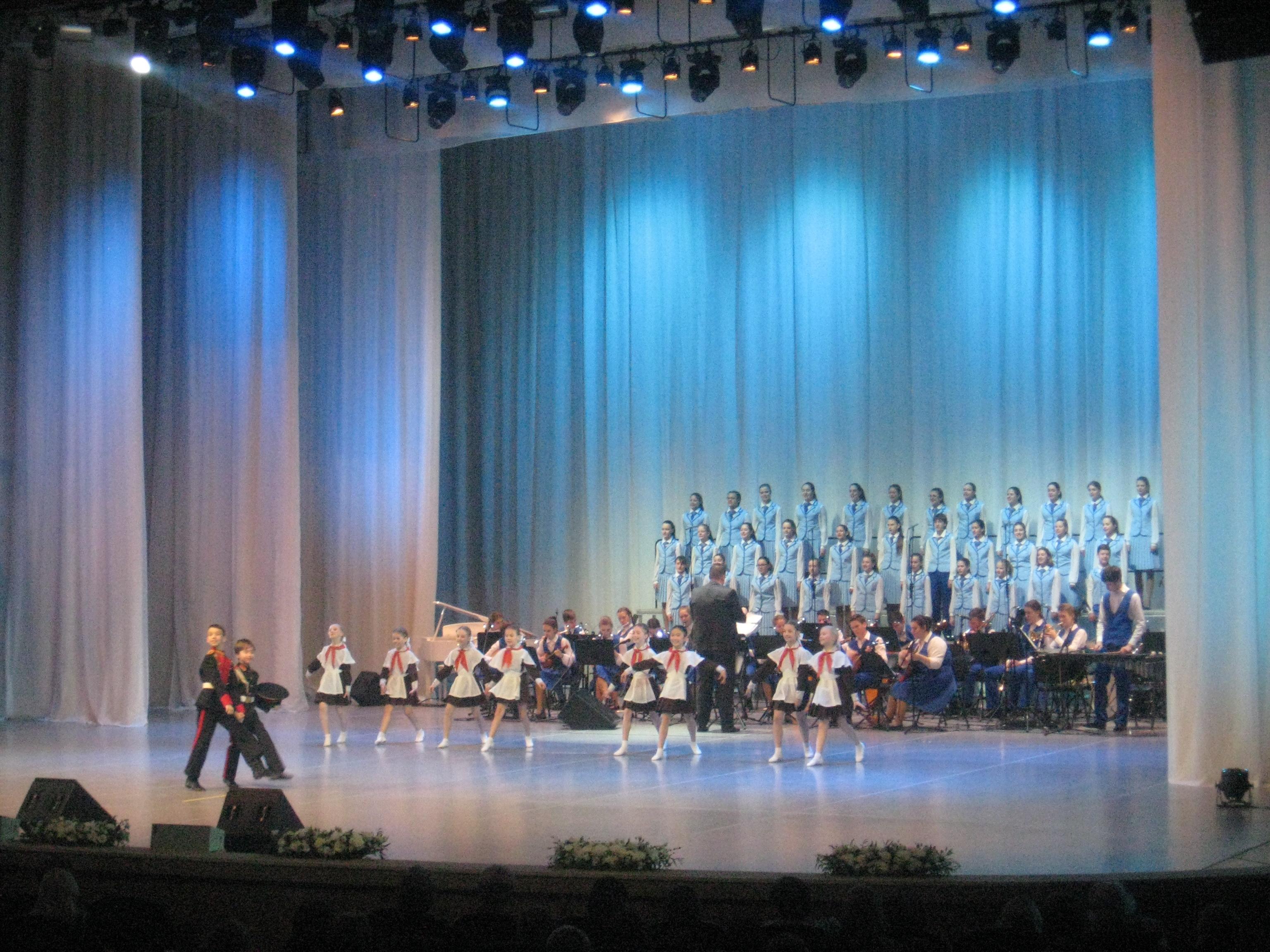 Работников культуры порадовали выступлением юных артистов из Москвы