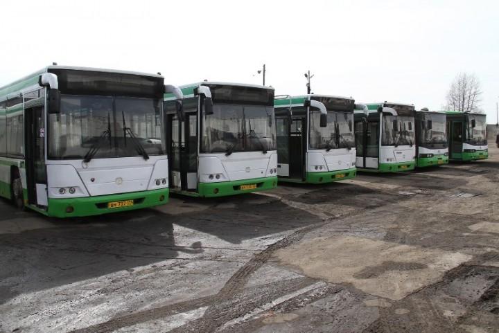 Из Москвы поступили семь бэушных автобусов