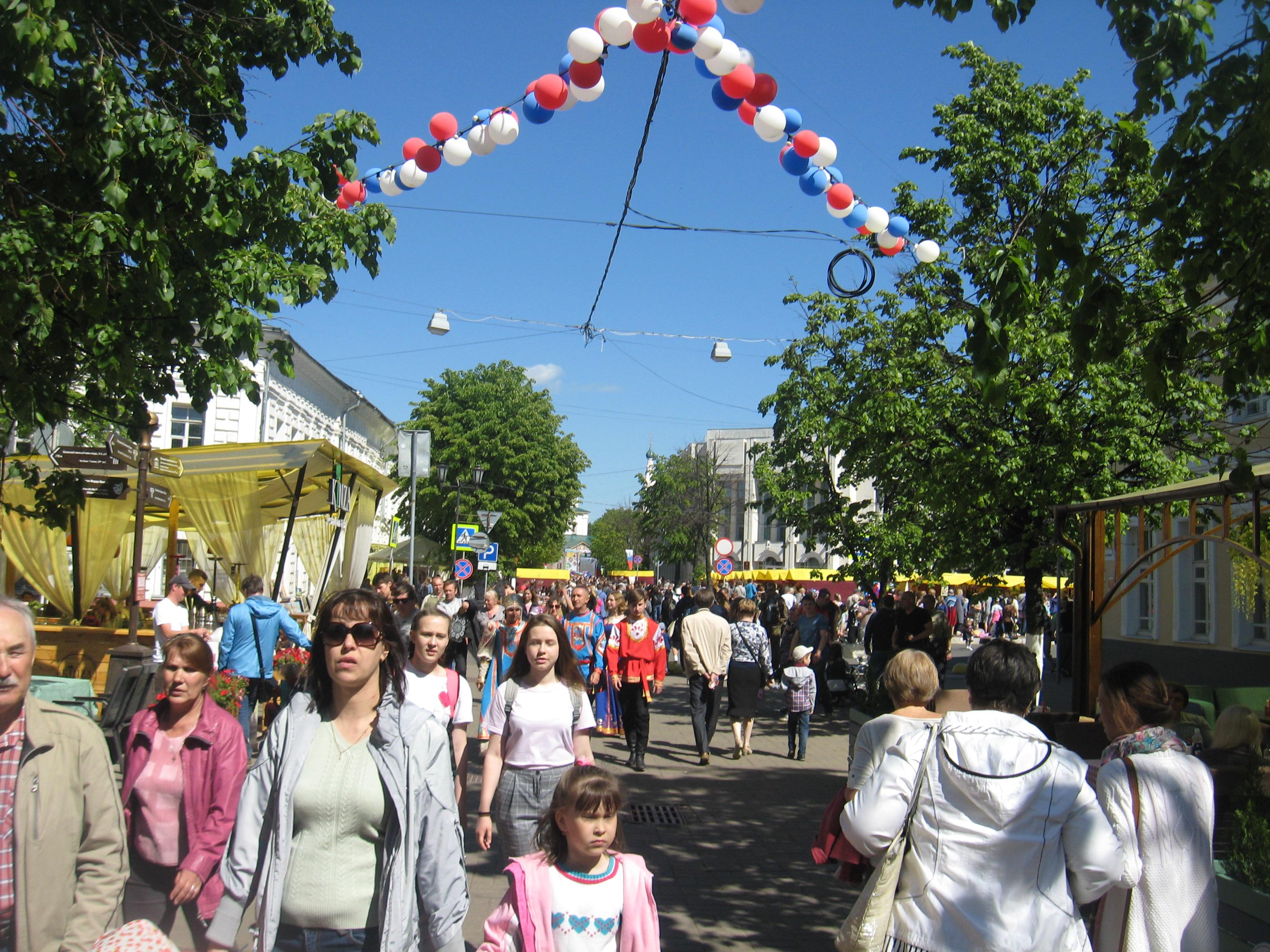 Ярославль отмечает День города (фоторепортаж)