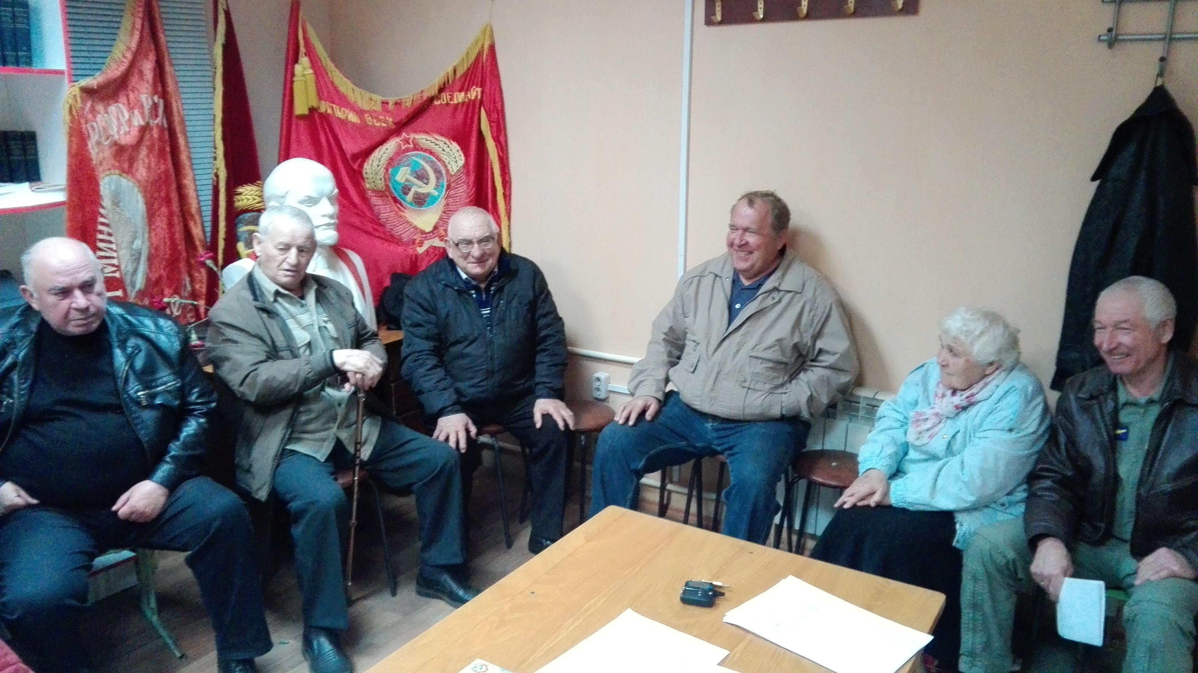 В Некрасовском районе прошло отчётно-выборное собрание