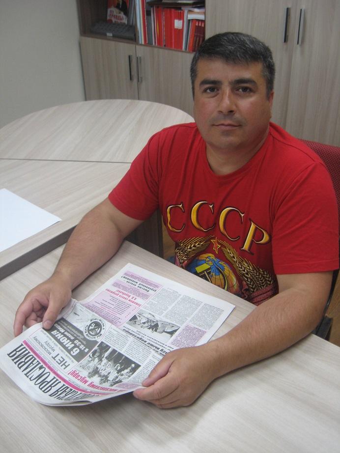 Ибрет Мамедбеков: «Моя Родина – СССР»