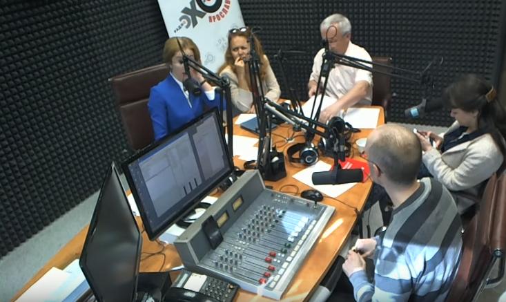 Александр Воробьев на радио «Эхо Москвы — Ярославль» (видео)