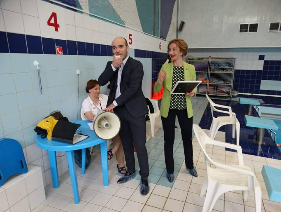 В День защиты детей прошел спортивный праздник на воде