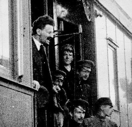 Лев Троцкий и Ярославский белогвардейский мятеж