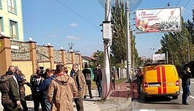К.К. Тайсаев: «Лица, устроившие взрыв в здании Коммунистической партии Донецкой Народной Республики получат адекватный ответ»