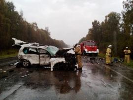 В ДТП под Рыбинском погибло шесть человек