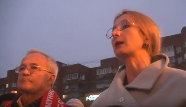 Выступления руководителей фракции КПРФ 7 ноября в Ярославле (видео)