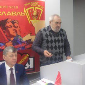 Выступает Вячеслав Грибов