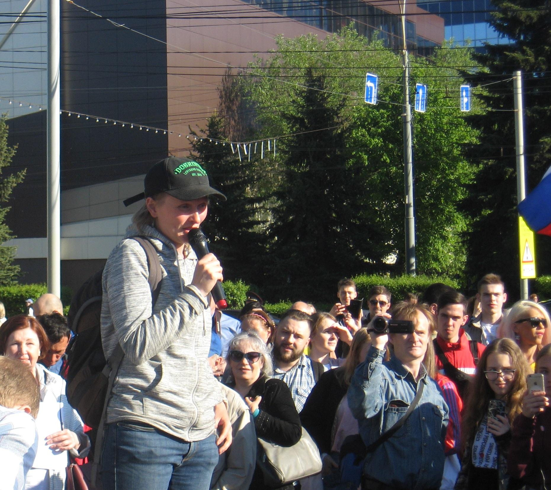 За борьбу с московским мусором активистку отправили убирать мусор в Ярославском районе