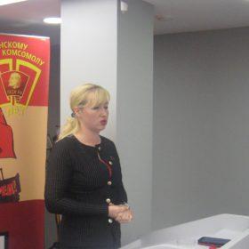 Выступает Наталия Бобрякова