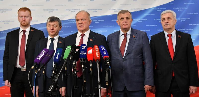 Г.А. Зюганов: «Наступил процесс прозрения: всем ясно, кто друг, а кто противник»