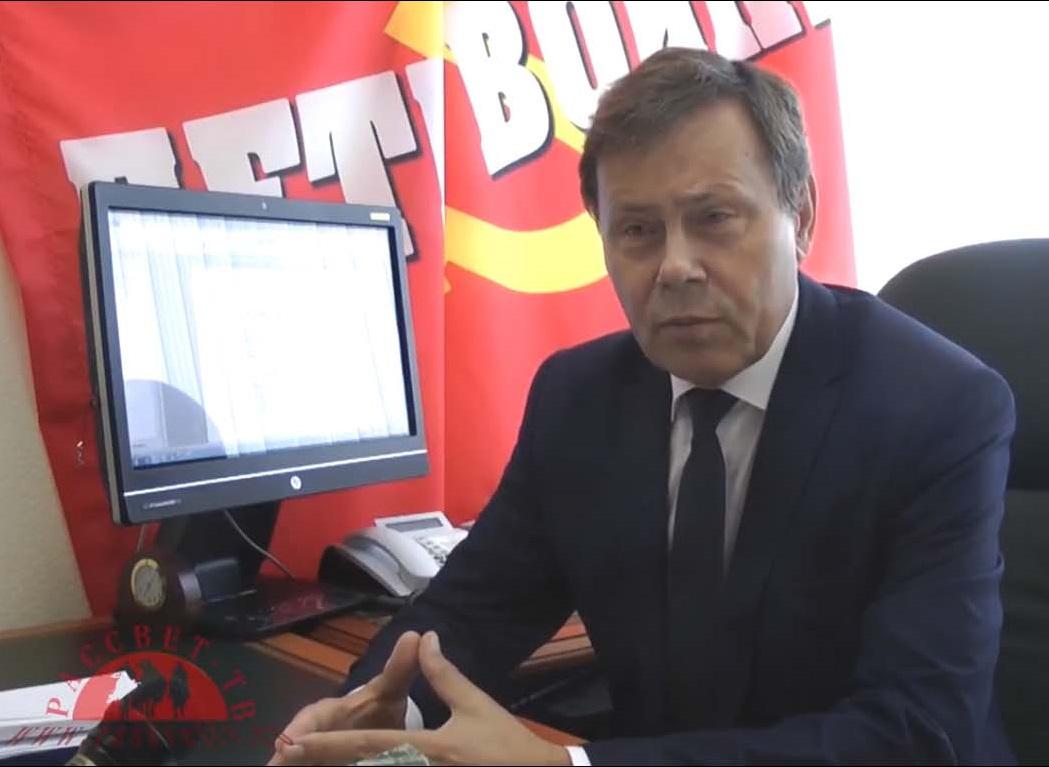 Николай Арефьев: «Хватит терпеть жулье во власти!» (видео)